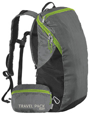 Travel Pack rePETe Stormfront Gray