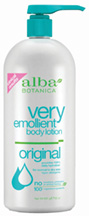 Very Emollient Body Lotion Original 32 oz. Alba Botanica