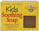 Kids Soothing Soap 4 oz. All Terrain Company