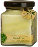 Cube Jar Baked Pear 6 oz. Aloha Bay