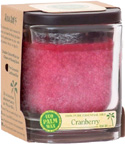 Cranberry Ecopalm Jar