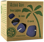Unscented Tea Light Violet Aloha Bay