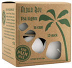 Unscented Tea Light White Aloha Bay