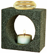 "Feng Shui Tea Light Aromatherapy Diffuser 5"" Aloha Bay"