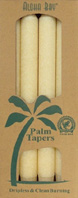 Unscented Palm Taper Cream 9 inch 4 Pack Aloha Bay