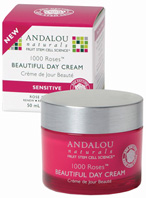 1000 Roses Beautiful Day Cream 1.7 oz. Andalou Naturals