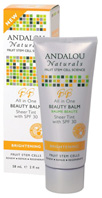 All-in-One Beauty Balm Sheer Tint SPF 30, 2.7 oz. Andalou Botanicals