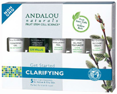 Get Started Clarifying Kit, 5 pc. Andalou Naturals
