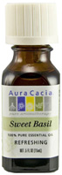 Essential Oil Basil Sweet Aura Cacia