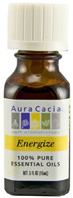 Essential Oil Blend Energize 0.5 oz. Aura Cacia