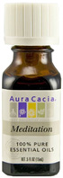 Essential Oil Blend Meditation 0.5 oz. Aura Cacia