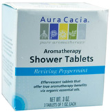 Aromatherapy Shower Tablets Reviving Peppermint 3 ct. Aura Cacia