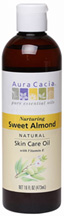 Skin Care Oil Sweet Almond 16 oz. Aura Cacia