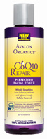 CoQ10 & Rosehip Wrinkle Therapy Perfecting Toner 8 oz. Avalon Active Organics