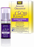 CoQ10 Repair Wrinkle Defense Serum 0.55 oz. Avalon Organics