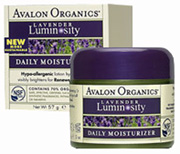 Lavender Luminosity Daily Moisturizer 2 oz. Avalon Organics