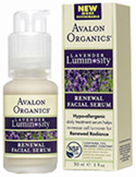 Renewal Facial Serum 1 oz. Avalon Organics