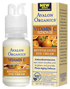 Revitalizing Eye Cream 1 oz. Avalon Organics