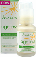 Age-less Illuminating Serum 1 oz. Avalon Organic Botanicals