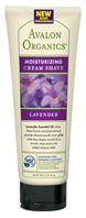 Cream Shave Peppermint: Avalon Organics Botanicals 8 oz. Avalon Organic Botanicals