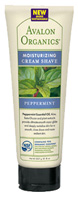 Cream Shave Peppermint 8 oz. Avalon Organic Botanicals
