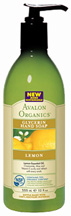 Glycerin Hand Soap Lemon 12 oz. Avalon Organics