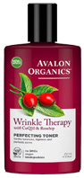 Wrinkle Therapy CoQ10 Perfecting Facial Toner 8 oz. Avalon Organics