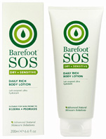 Daily Rich Body Lotion 200 ml. Barefoot SOS