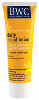 Daily SPF15 Facial Lotion 8 oz.  Beauty Without Cruelty