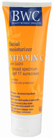 Facial Lotion Vitamin C CoQ10 SPF17 4 oz.  Beauty Without Cruelty