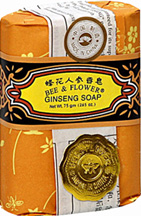 Bee & Flower Soap Gift Box, 12/Box Ginseng