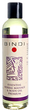 Premium Massage Oil 8 oz. Bindi Skin Care