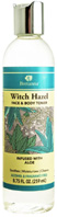 Witch Hazel Face & Body Toner Aloe 8.75 oz.