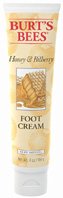 Honey & Bilberry Foot Cream 4 oz. Burts Bees