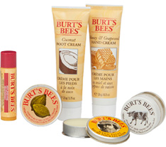 Tips and Toes Kit 6 pc. Burts Bees