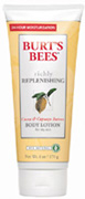 Richly Replenishing Cocoa & Cupuacu Butters Body LotionRichly Replenishing Cocoa & Cupuacu Butters Body Lotion 6 oz. Burt's Bees