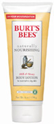 Naturally Nourishing Milk & Honey Body Lotion 6 oz. Burt's Bees