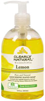 Glycerine Hand Soap Lemon 12 oz. Clearly Natural