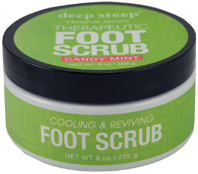 Candy Mint Foot Scrub 8 oz. Deep Steep