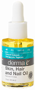 Skin, Hair and Nail Oil 1 oz. Derma E