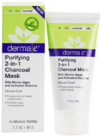 Purifying 2-in-1 Charcoal Mask 1.7 oz. Derma E