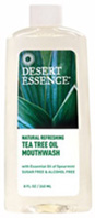 Tea Tree Oil Mouthwash 16 oz. Desert Essence