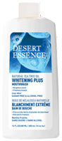 Whitening Plus Mouthwash Cool Mint 16 oz. Desert Essence
