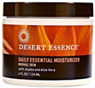 Daily Essential Moisturizer 4 oz. Desert Essence
