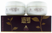 2 Step Home Alpha Beta Peel Kit 2 pc. Devita Skin Care