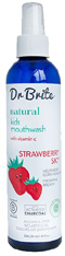 Kid's Strawberry Sky Cleansing Mouth Rinse Spray 8 oz. Dr. Brite