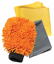 Car Cleaning Kit, 3 pc.  E-Cloth