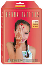 All Natural Body Painting Kit KIDS Earth Henna