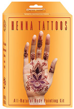 All Natural Body Painting Kit PREMIUM Earth Henna