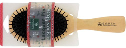 Lacquer Pin Brush / Cushion Large: Earth Therapeutics